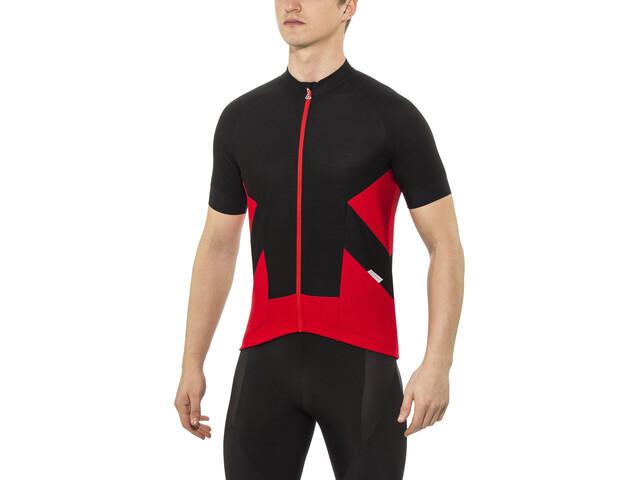 Löffler 1Beats2 Bike Trikot FZ Herren schwarz-rot